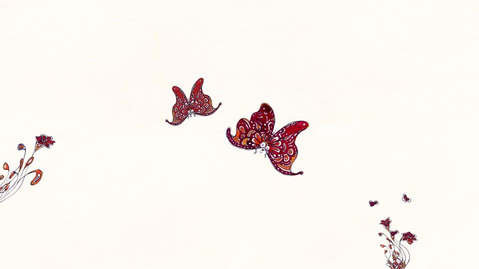 Création communication imprimée faire part de naissance à l'aquarelle
